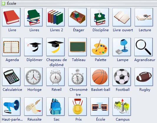 Symboles d'école