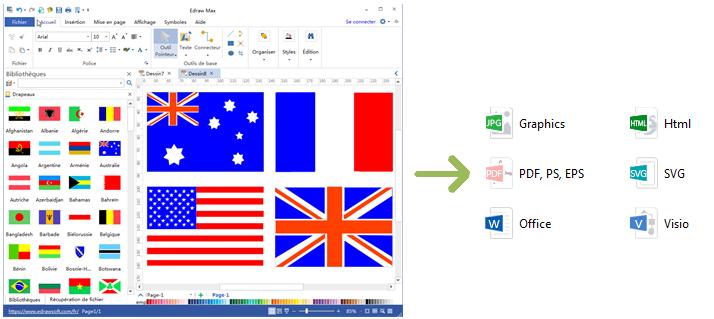 Export A Single Flag