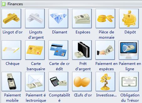 Modèles de Clipart de Finances