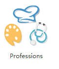 Clipart de profession vectoriel