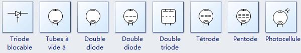 Autres symboles de semi-conducteur