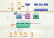 diagramme d'affaires sur l'organisation