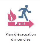 Plan d'évacuation d'incendie