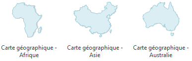 Geo Map Software - Africa, Asia, Australia