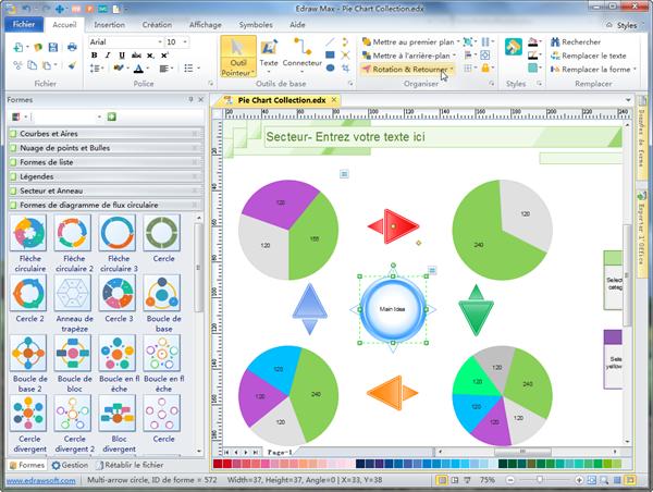 Logiciel de cr ation de graphique en secteur for Logiciel creation de plan