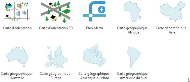 Logiciel de carte géographique