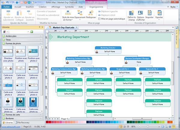 logiciel d u0026 39 organigramme  t u00e9l u00e9chargement gratuit des mod u00e8les et des exemples d u0026 39 organigramme