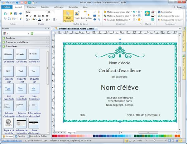 Logiciel de création de certificat