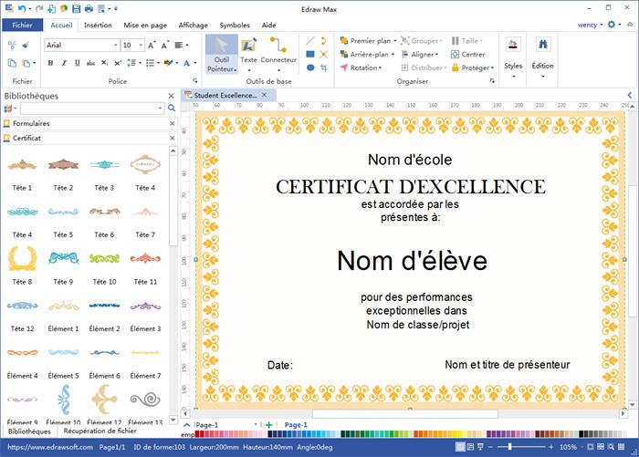 logiciel pour créer un certificat