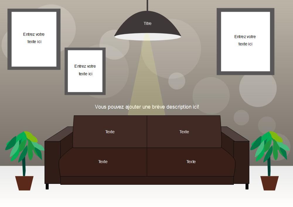 modèle de flyer de meuble