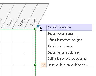 Ajouter ou supprimer des lignes ou des colonnes