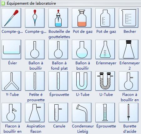 Modèle de matériel de laboratoire