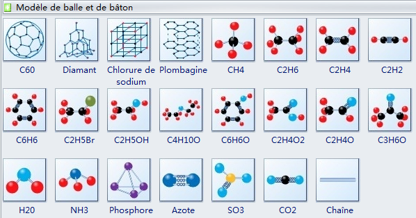 Molecular Model Diagram Symbols