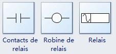 Symboles de relais