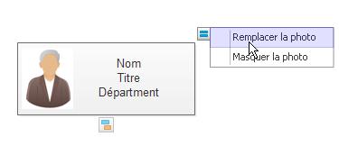 Ajouter une photo à la forme d'organigramme