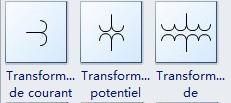 Symboles de transformateur