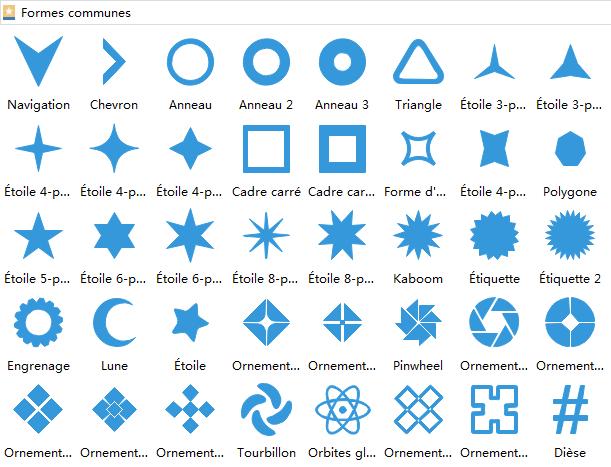 Symboles communs 3