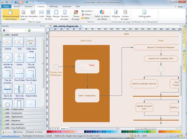 Diagramme d'activité UML