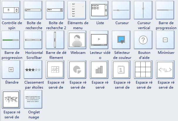 Symboles de Wireframe 2