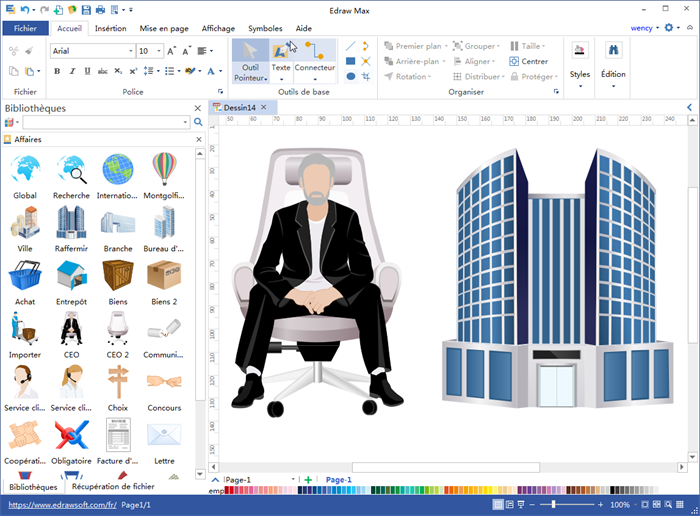 Logiciel pour créer des dessins vectoriel