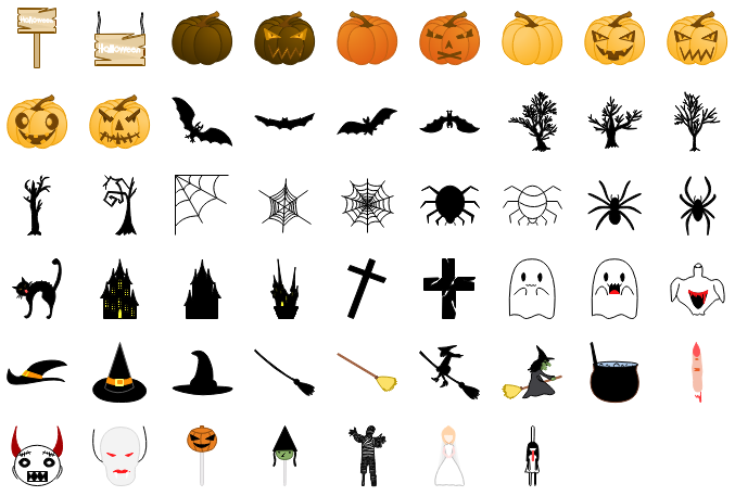 Éléments d'Halloween