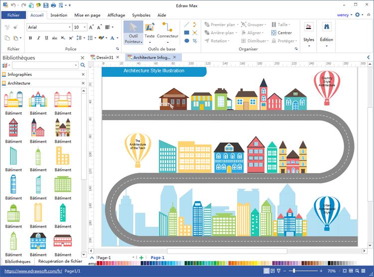logiciel pour la création d'infographie