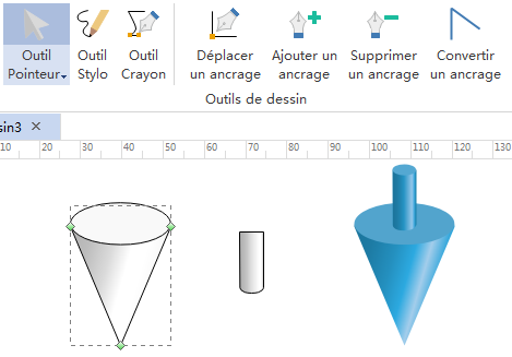 Dessiner de nouvelles formes 3D de géométrie