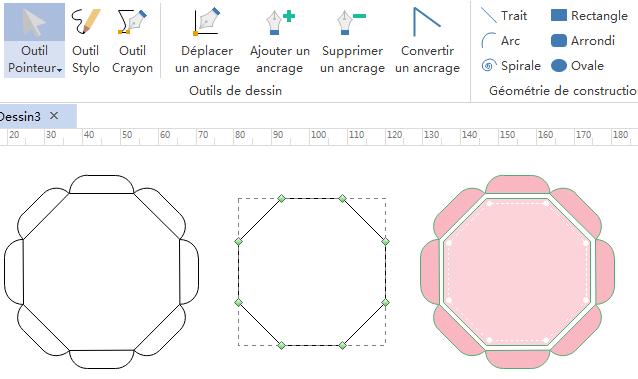 Créer des formes simples pour l'infographie