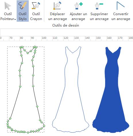 Créer de nouveaux éléments de design de mode