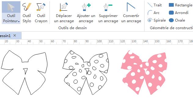 Créer vos propres symboles de noeud-papillon d'infographie