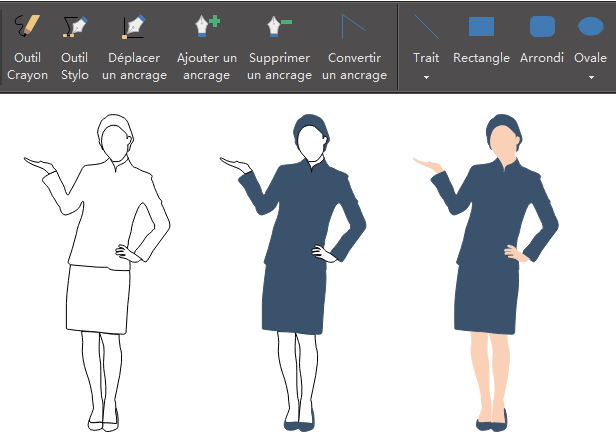 Dessiner vos propres icônes de personnes pour l'infographie