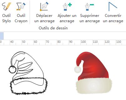 Dessiner vos propres merveilleux symboles d'infographie de Noël