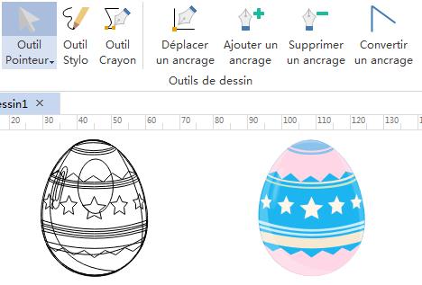 Dessiner vos propres éléments d'infographie de Pâques