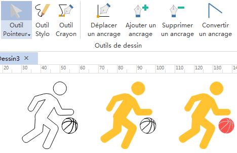 Dessiner des pictogrammes d'activités des gens pour votre infographie