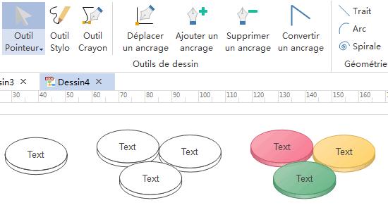 draw infographics venn diagram vector circle