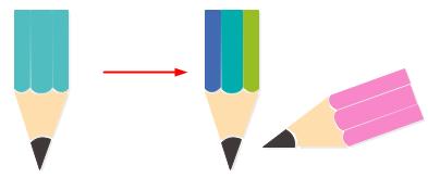 Modifier l'élément d'infographie pédagogique