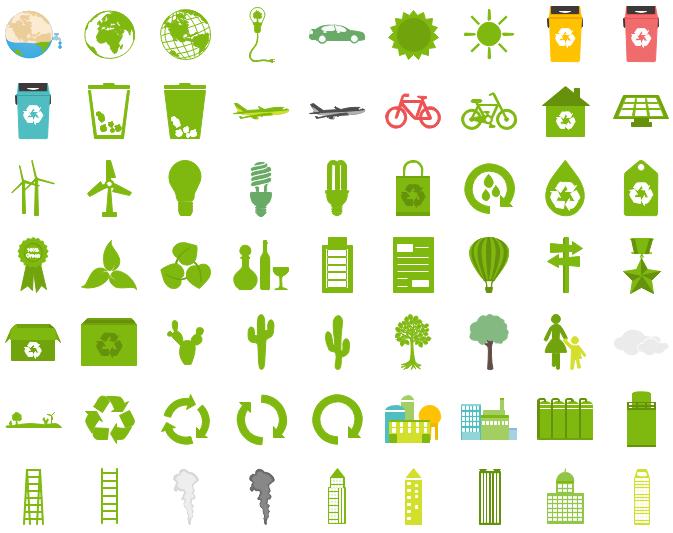 Éléments d'infographie de l'environnement