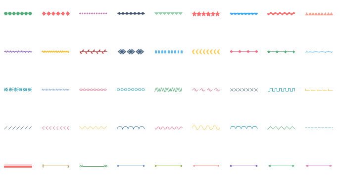 Icône d'infographie - lignes design vctoriels