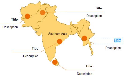 Carte du monde intégrée vectorielle