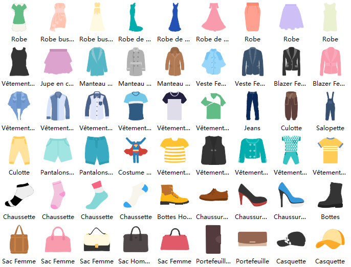 Fashion Design Symbols