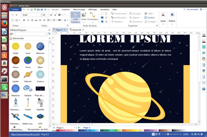 logiciel pour la création d'affiche et de flyer sur Linux