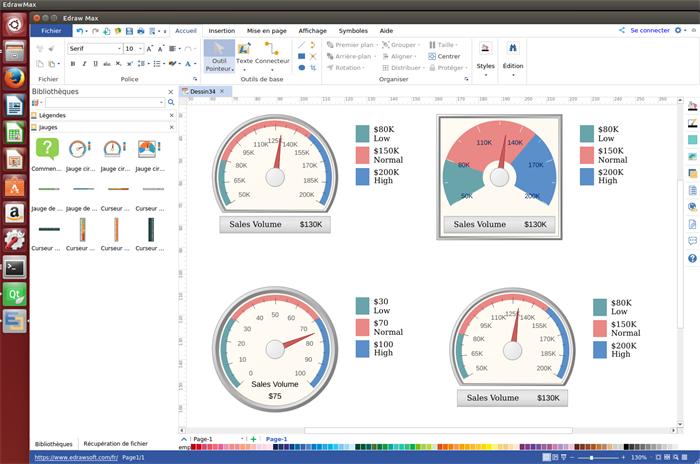meilleur logiciel pour faire des graphiques jauge sur linux