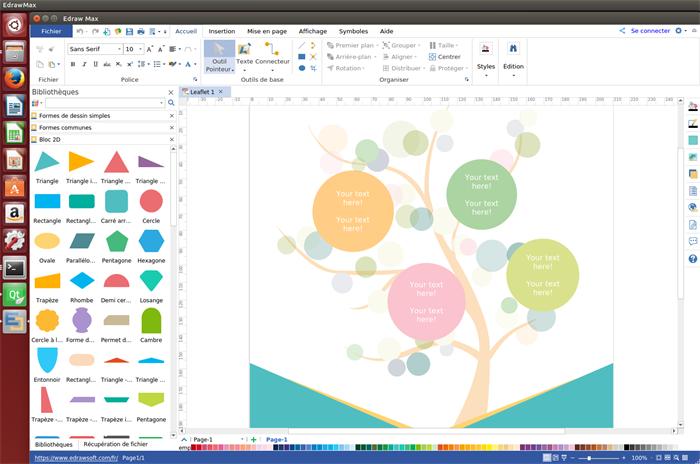 logiciel de prospectus pour Linux