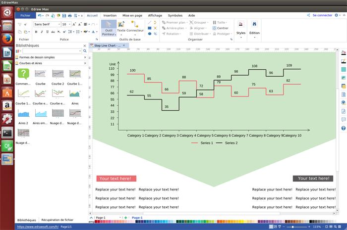 Logiciel de graphique en courbes pour Linux