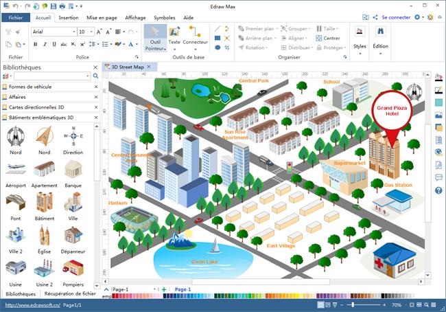 logiciel de carte g u00e9ograohique et plan de rue pour mac