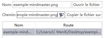 Change Attachment Name MindMaster