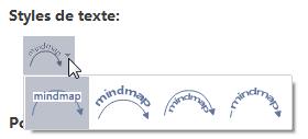 Text Style Relationship MindMaster