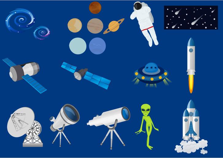 exemple d'astronomie