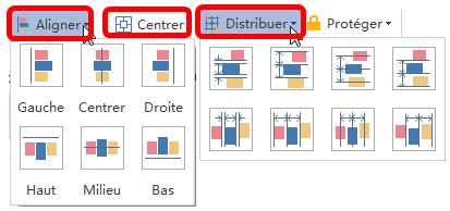 Mettre en page les formes de diagramme UML