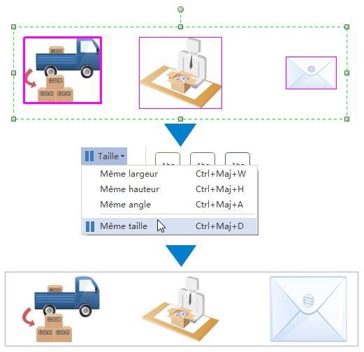 Ajouter des formes de diagramme de flux de travail